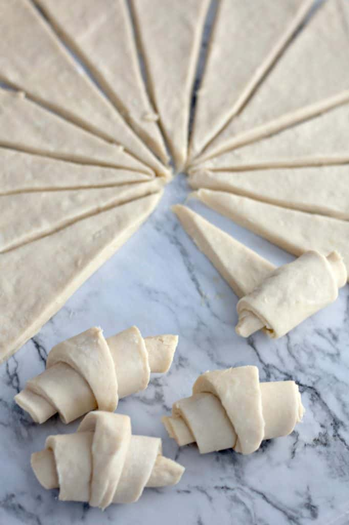 rolling crescent rolls