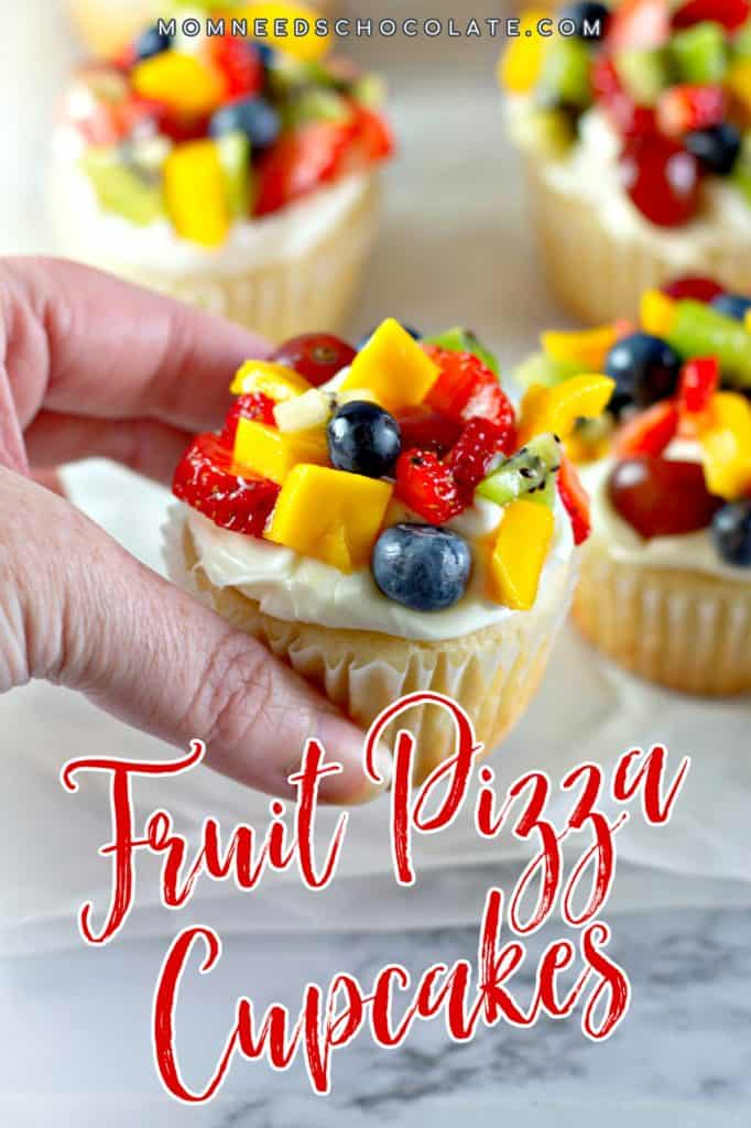 Fruit Pizza Cupcakes on Pinterest
