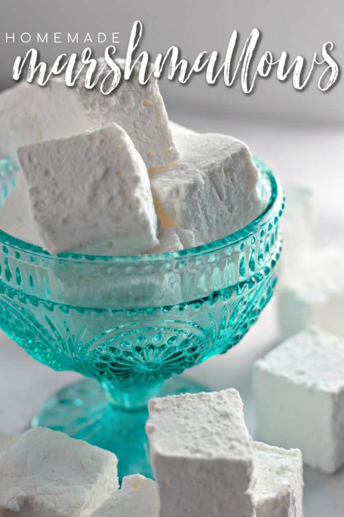 Homemade Marshmallows Recipe on Pinterest