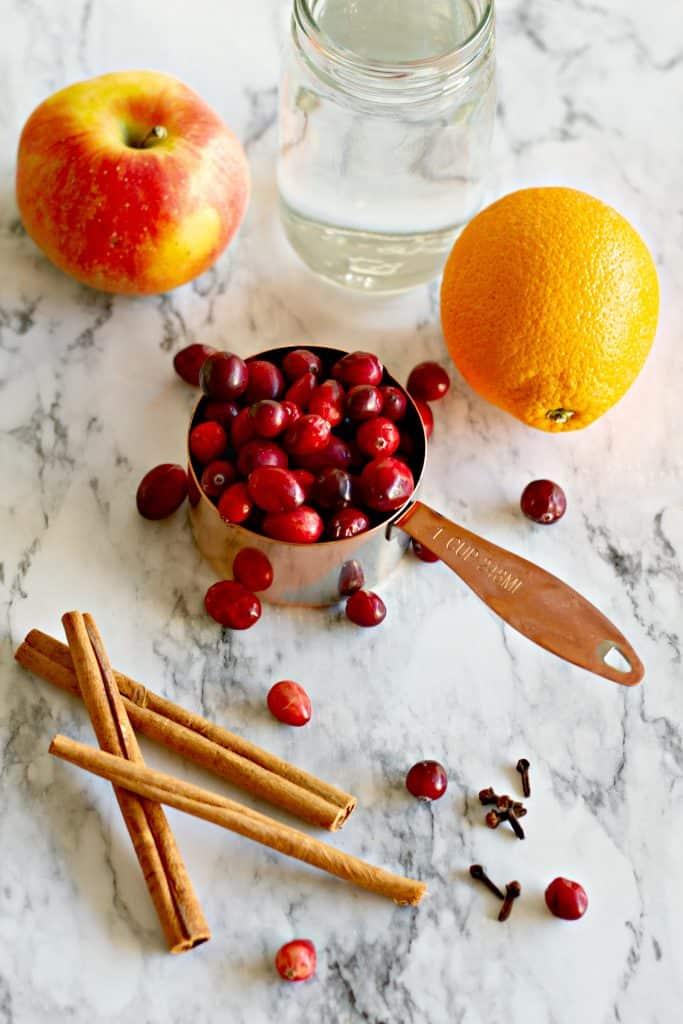 ingredients to make Natural Simmering Potpourri