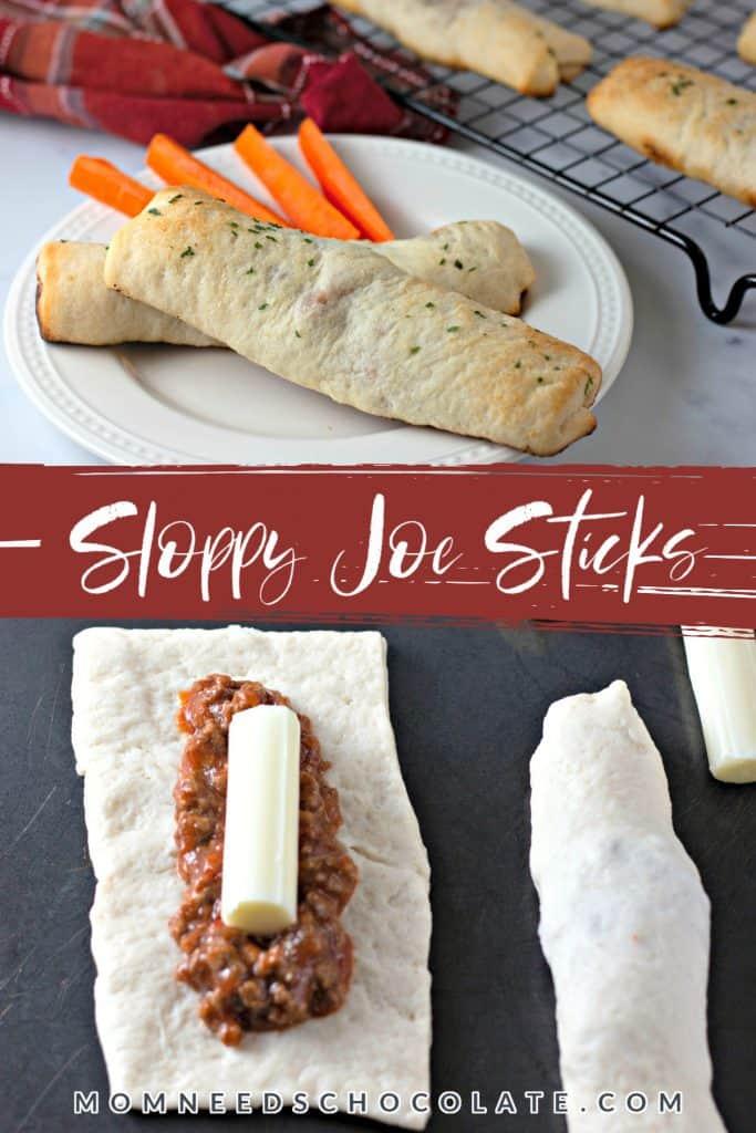 Sloppy Joe Sticks