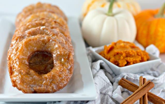 Pumpkin Buttermilk Donuts