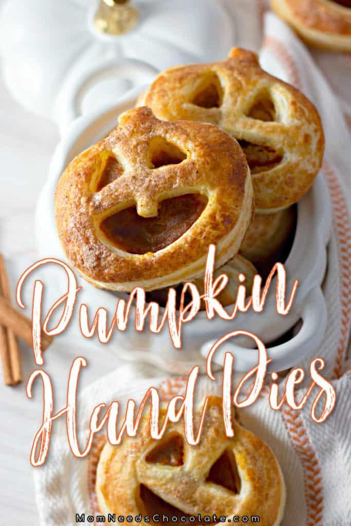 Pumpkin Hand Pies on Pinterest