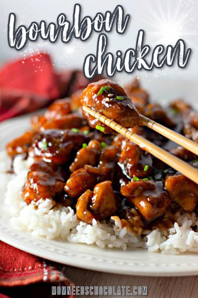 Sweet Bourbon Chicken on Pinterest