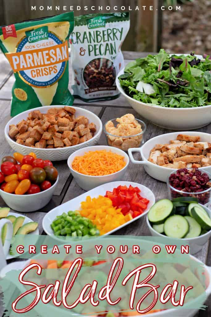Create Your Own Salad Bar on Pinterest.
